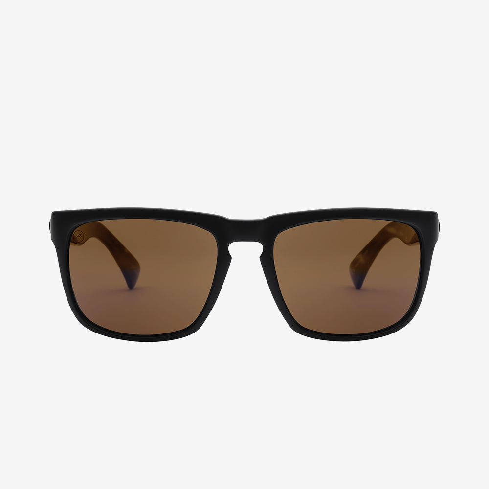 Electric Sunglasses Knoxville Polarized Matte Black/Polarized Bronze
