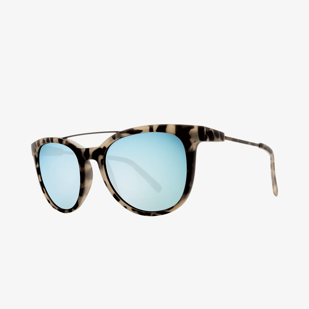 Electric Sunglasses Bengal Wire Nude Tort/Sky Blue Chrome
