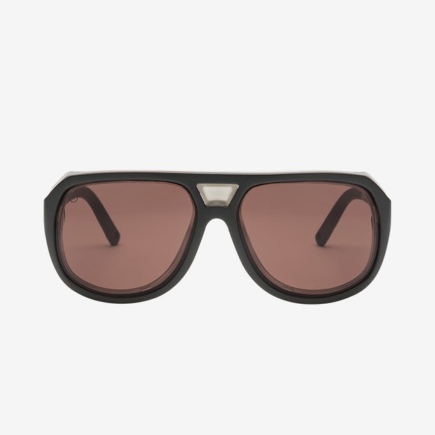 Electric Sunglasses Stacker Plus Matte Black/Rose Plus