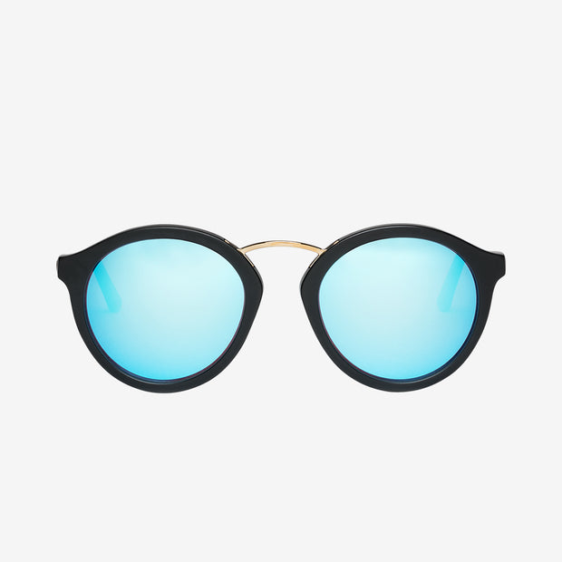 Electric Sunglasses Mixtape Matte Black/Sky Blue Chrome