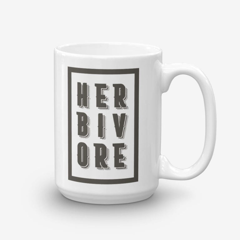 15Oz Boxed Herbivore Coffee Mug