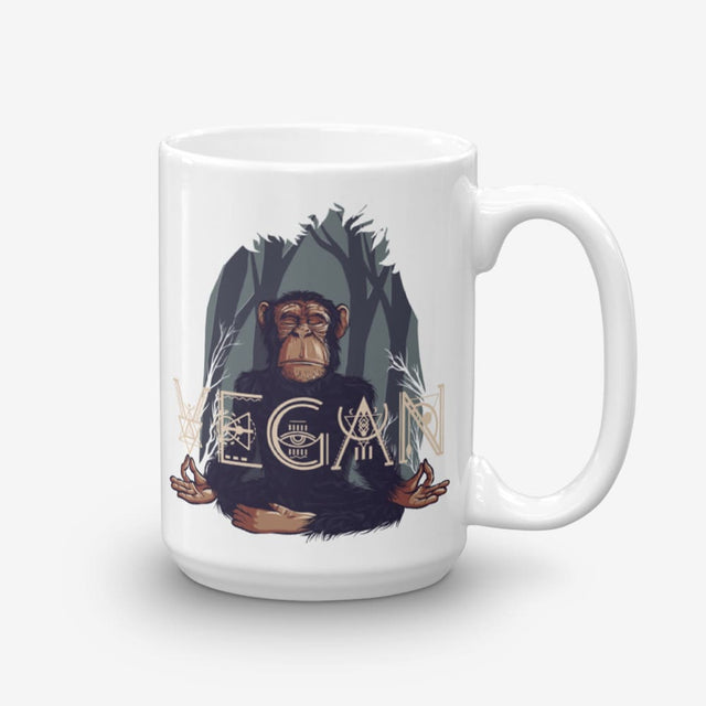 15Oz Namaste Vegan Coffee Mug