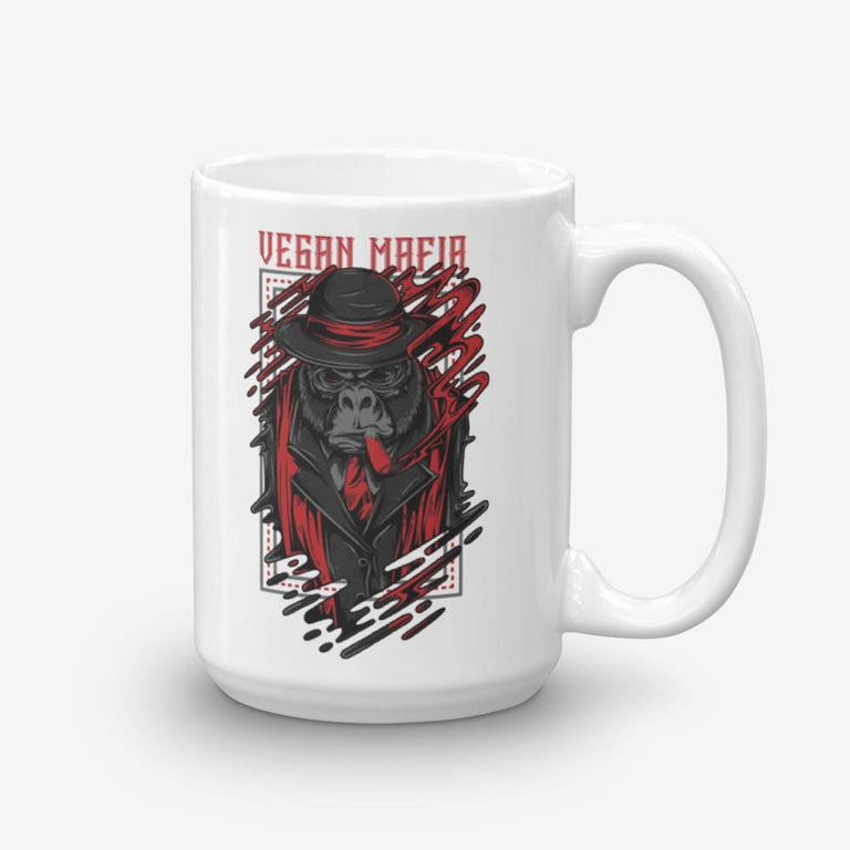 15Oz Vegan Mafia Coffee Mug