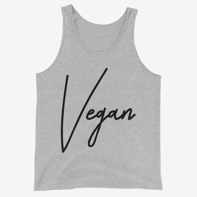Mens Chic Vegan Tank Top - Athletic Heather / Xs