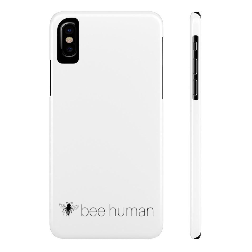 bee human - Case Mate Slim Phone Cases