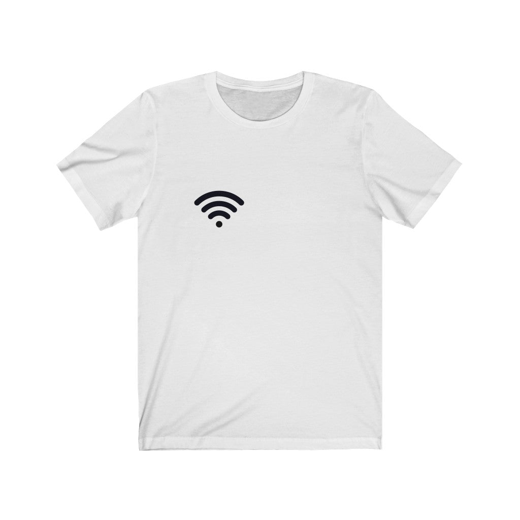 WiFi White Tee |  Digital Collection