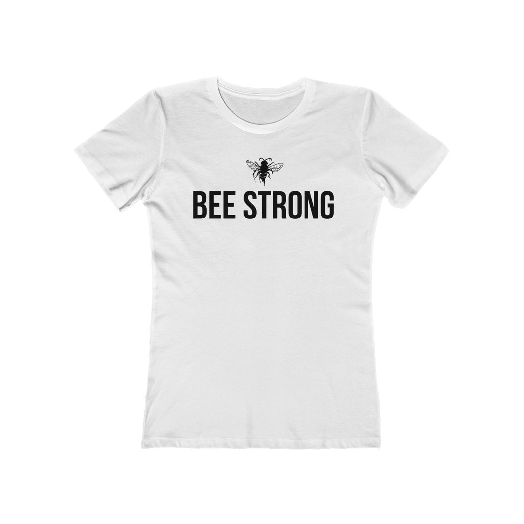 bee strong - Women's The Boyfriend Tee