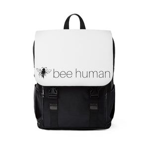 bee human - Unisex Casual Shoulder Backpack