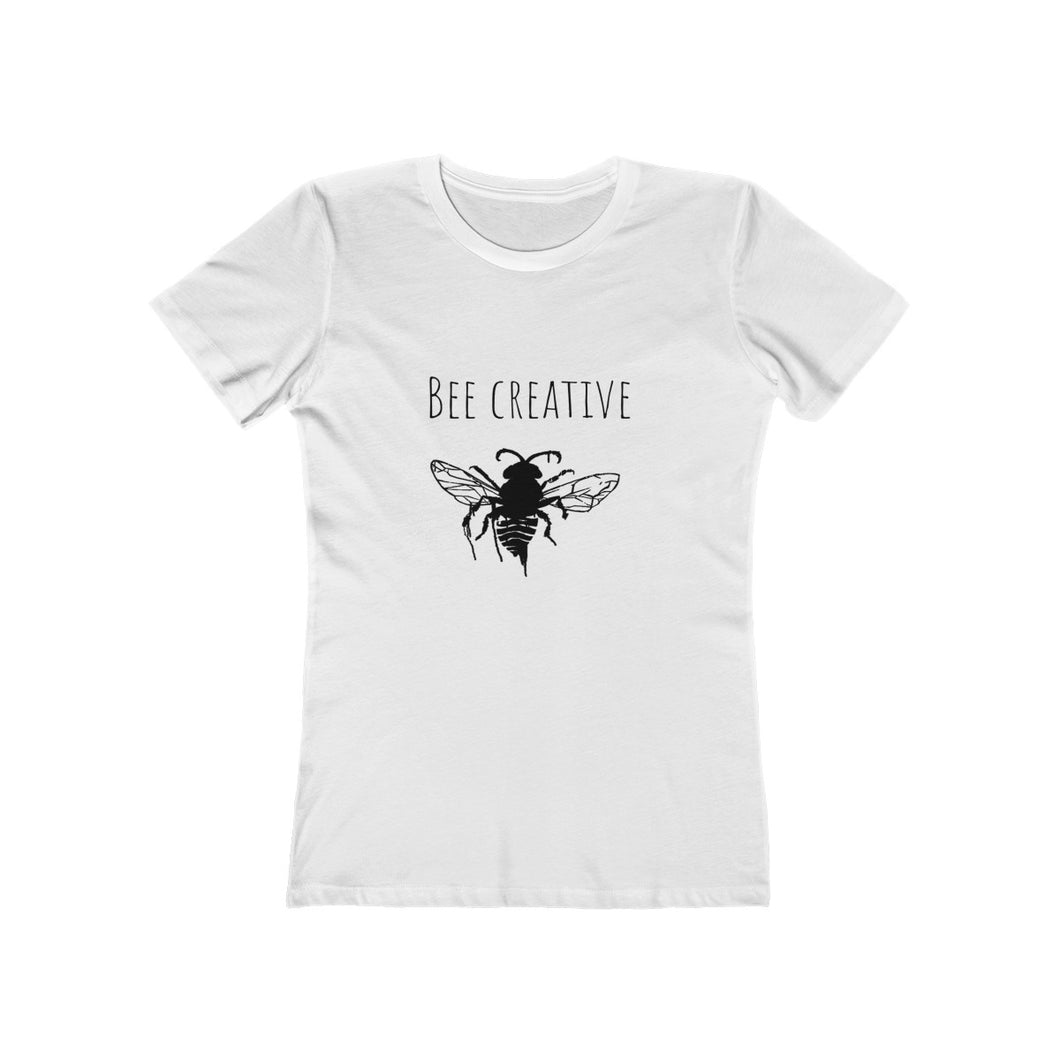 bee creative - 100% soft cotton women tee