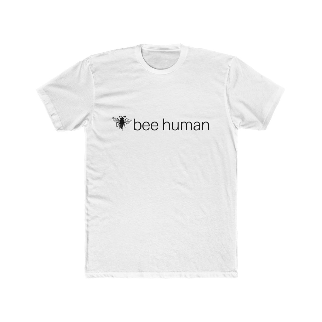 Bee Human Men's Shirt - Cotton Crew Tee