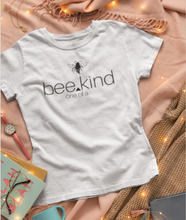 Load image into Gallery viewer, bee kind - one of a kind - woman tee