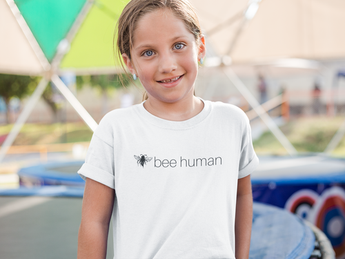 bee human - Kids Softstyle Tee