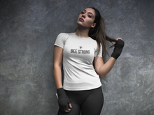 Load image into Gallery viewer, bee strong - Women's The Boyfriend Tee