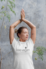 Load image into Gallery viewer, bee vegan - Women's Organic Tee