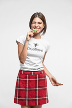 Load image into Gallery viewer, beelieve - soft cotton women tee