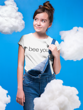 Load image into Gallery viewer, bee you - Kids Softstyle Tee