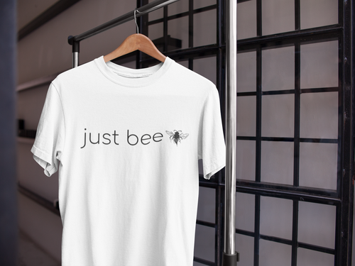 Just Bee - Men's Cotton Crew Tee