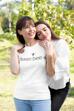 Load image into Gallery viewer, queen bee - 100% soft cotton women tee