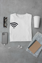 Load image into Gallery viewer, WiFi White Tee |  Digital Collection