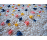 Berber carpet 110 x 80 cm - 2.6 ft x 3.6 ft - Ofrada