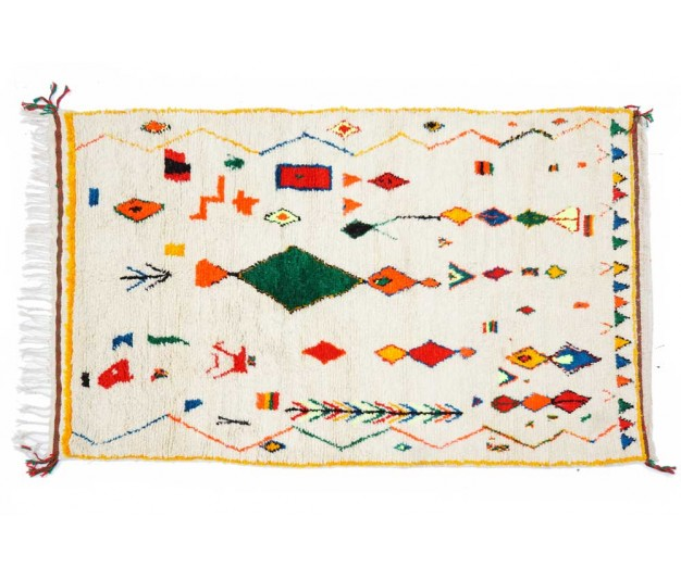 Berber carpet from Morocco - 245 x 153cm - 96
