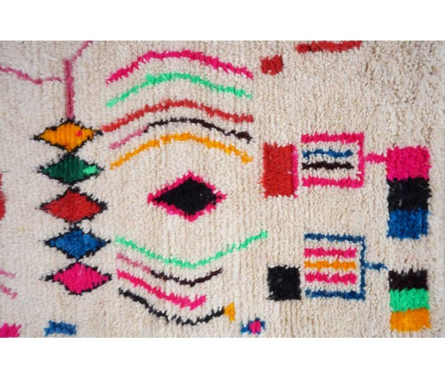 "Berber carpet from Morocco - 250 x 150cm - 98"" x 59"" - Ofrada"