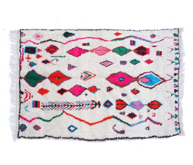 Colorfull Moroccan rug - 250 x 140cm - Ofrada