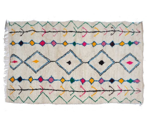 Azilal Moroccan rug - 284 x 170 cm - 5.6 ft x 9.3 ft - Ofrada