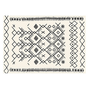 Black White beni ourain Carpets Rugs For cheap price
