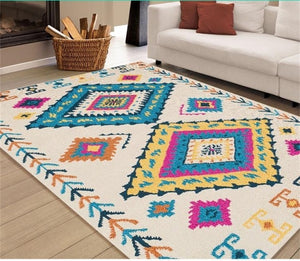 Bohemian Carpet For Living Room - Ofrada