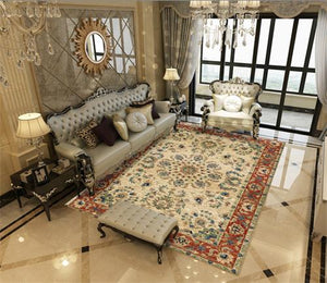 Persian Bedroom Rug Large Sofa Coffee Table Customized Carpets - Ofrada