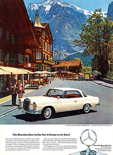 1963 Mercedes Benz 220SE Coupe     #100355