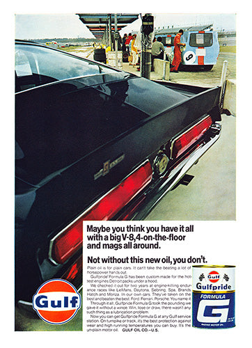1968 Gulf Oil Ford Mustang Shelby GT500     #101059