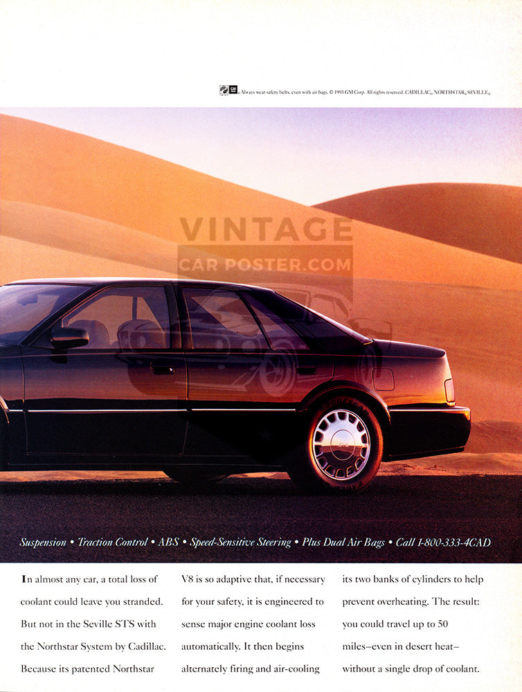 1993 Cadillac Seville STS      #104079