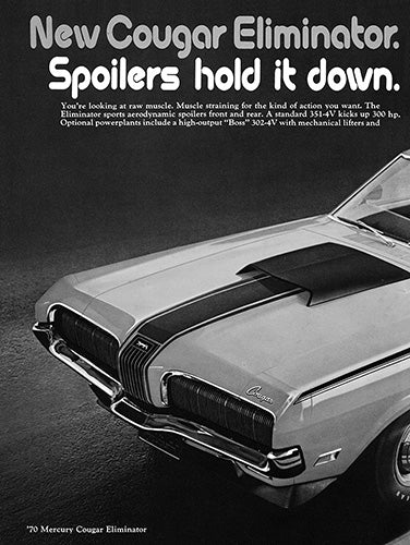 1970 Ford Mercury Cougar Eliminator      #101371