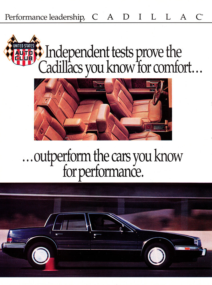 1989 Cadillac Seville STS      #103555