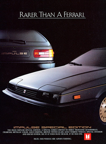 1984 Isuzu Impulse Special Edition     #103381