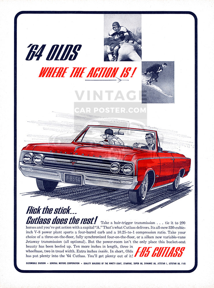 1964 Oldsmobile Cutlass     #100501