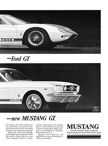 1965 Ford Mustang GT      #100644