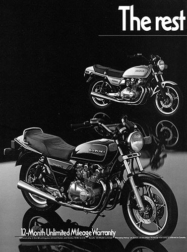 1981 Suzuki Motorcycle GS-650E      #103115