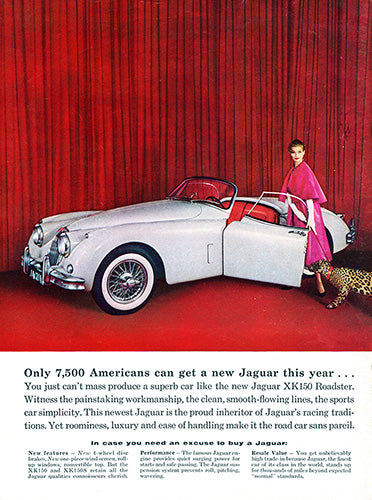 1958 Jaguar XK150 XK150S Convertible Roadster     #100054
