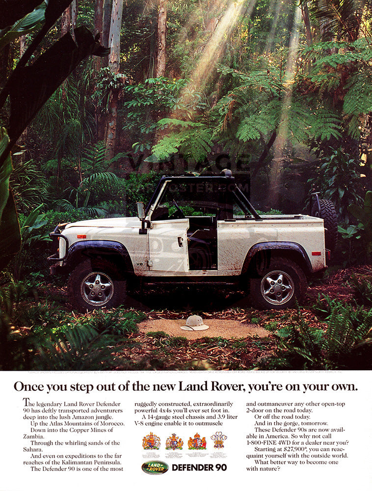 1993 Land Rover Defender 90     #104293