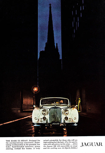 1960 Jaguar Mark IX Sedan     #100143