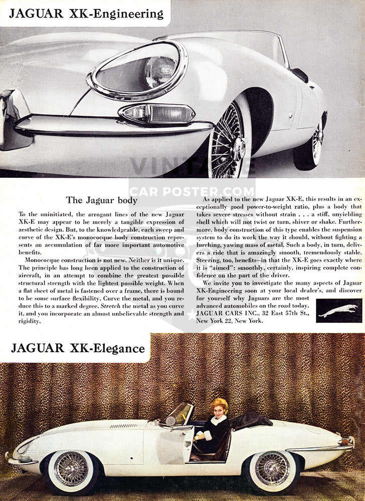 1962 Jaguar XKE Convertible Roadster     #100240