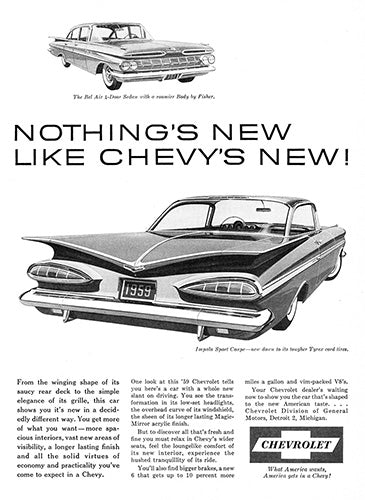 1959 Chevrolet Bel Air     #100090