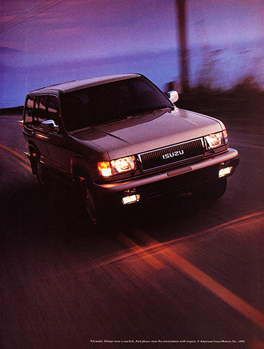 1992 Isuzu Trooper      #103801