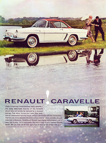 1960 Renault Caravell Convertible     #100177