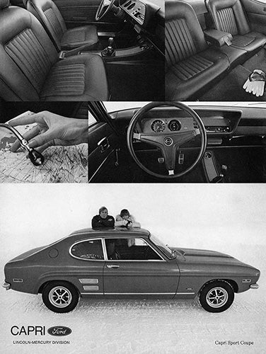1971 Ford Capri Sport Coupe     #101467