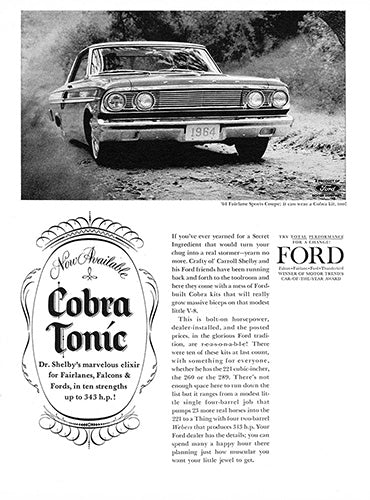 1964 Ford Fairlane Sports Coupe     #100458