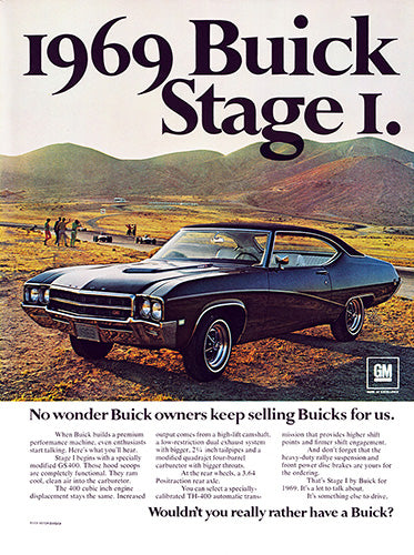 1968 Buick GS400     #100931